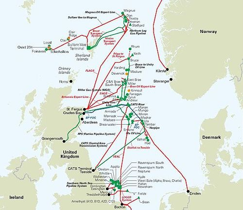 Map Of Uk Oil Fields.Bp And Partners Investing 10 Billion In Uk Oil And Gas
